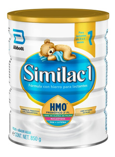 Pack 4 Similac 1 Con Hmo, 900 Grs (0 A 6 Meses)