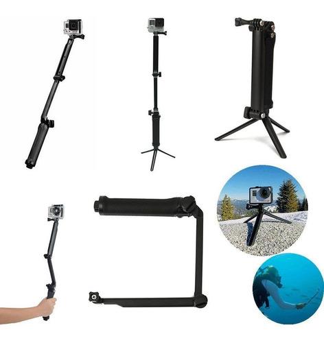 Monopod Selfie Stick Universal 3 En 1 Camaras Gopro Hero