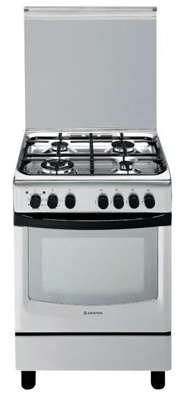 Cocina Ariston Mixta 60cm Horno Eléctrico Cx 650s P1 (x) Ag
