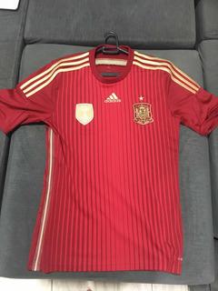 Camisa Seleção Espanha 2001 Tam P Original