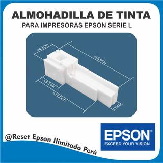 Almohadillas Epson L110 L210 L220 L350 L355 L365 L375 L455