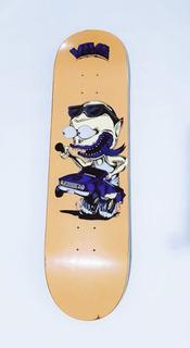 Tabla Viva Skateboard Skate Profesional 8.5 Lija Gratis