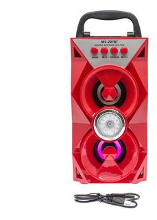 Parlante Portatil Malibu Bluetooth Mmk Ms 207bt Impc