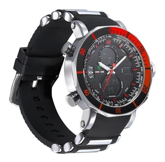 Reloj Weide Original Wh5203 Hombre Sport Elegante + Caja