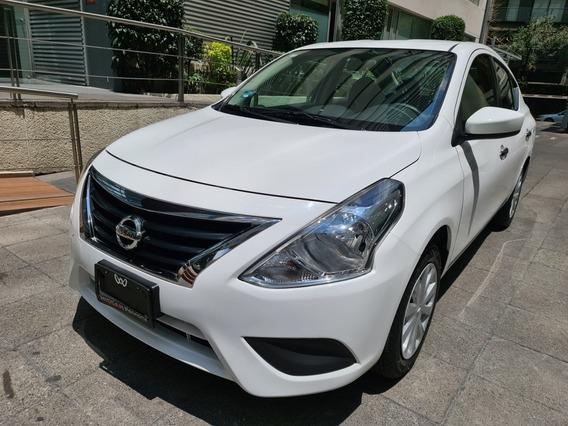 Nissan Versa 1.6 Sense Mt 2018 Seminuevo!!! Gran Oportunidad