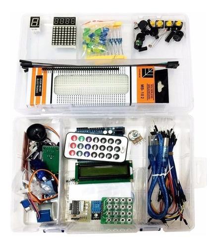 Imagen 1 de 3 de Kit Arduino Uno Principiantes Rfid Start Access Diy Control