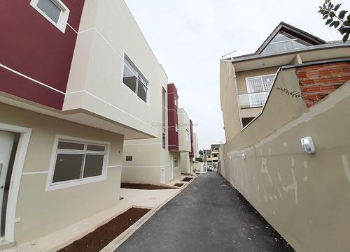Sobrado Em Condomínio Com 3 Dormitórios À Venda Com 131m² Por R$ 655.000,00 No Bairro Uberaba - Curitiba / Pr - Eb+6012