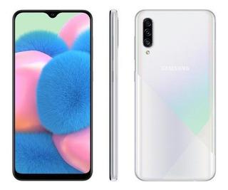 Smartphone Samsung Galaxy A30s 64gb Branco 4g-4gb Ram