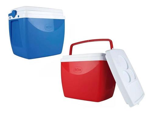 Caixa Termica 34l Azul/vermelha