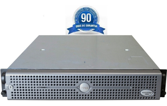 Servidor Dell Poweredge 2850 - Intel Dual Xeon 64 Bits - 8 Gb Ram - 2 Hds 300gb - Baratíssimo Com Garantia De Hardware