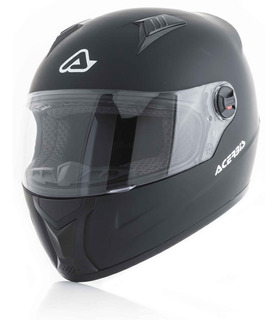Casco Moto Acerbis Fs 807 Negro Mate Motoscba