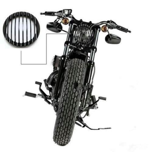 Grelha Tela Grade De Farol Harley Davidson Sportster