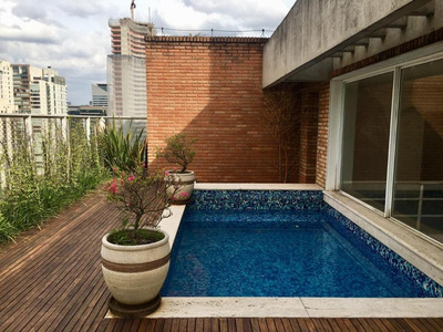 Cobertura Em Itaim, São Paulo/sp De 397m² 3 Quartos À Venda Por R$ 9.000.000,00 Ou Para Locação R$ 25.000,00/mes - Co178704lr
