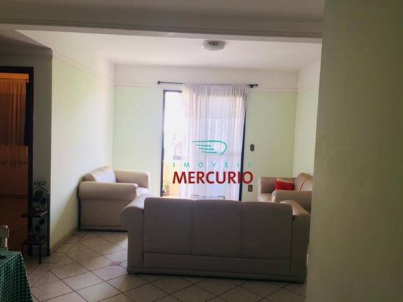 Apartamento Com 2 Dormitórios Para Alugar, 68 M² Por R$ 1.000/mês - Jardim Aeroporto - Bauru/sp - Ap3405