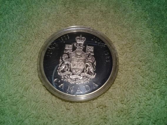 Moneda Token Canada Plata Proof 1983 En Capsula