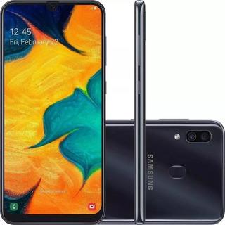 Celular Samsung A30 64gb 4gb Ram Tela 6.4 + Cartão 64gb