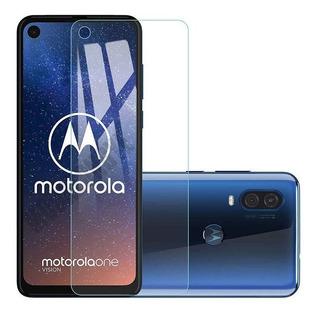 Mica Cristal Templado Vidrio Pantalla Motorola C E5 G6 G7 Z2