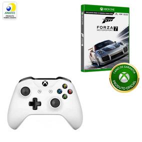 Kit Controle Sem Fio Xbox One S + Forza 7