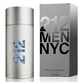 Perfume Carolina Herrera 212 Edt Masculino 100ml Lacrado