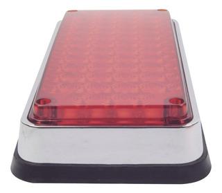 Luz De Advertencia Rojo P/ambulancias 7 X 3 Xlte295r Epcom