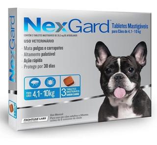 Nexgard 3 Comprimidos Oferta Del Mes De 4,1 A 10 Kg Pethome