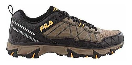 Fila Peake 20 Zapatillas De Running Para Hombre Color Negro