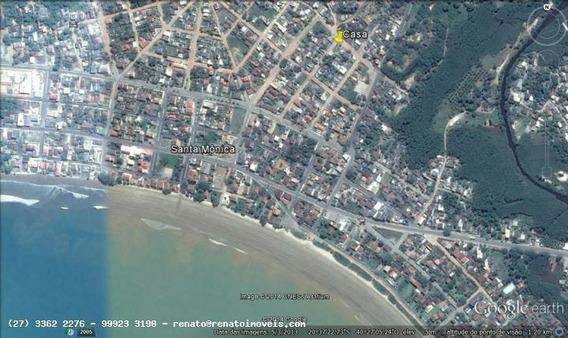 Casa Para Venda Em Guarapari, Santa Mônica, 2 Dormitórios, 1 Banheiro, 3 Vagas - A50