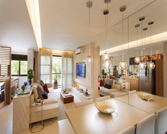 Apartamento A Venda No Bairro Jacarepaguá Em Rio De Janeiro - Rj. 2 Banheiros, 2 Dormitórios, 1 Suíte, 1 Vaga Na Garagem, 1 Cozinha, Lavabo. - 2140 - 2140 - 34340032