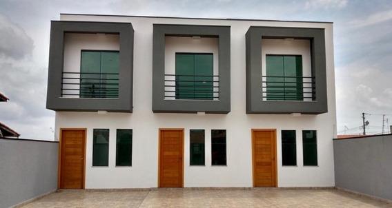 Sobrado À Venda - 70m² - Vila São Sebastião -mogi Das Cruzes