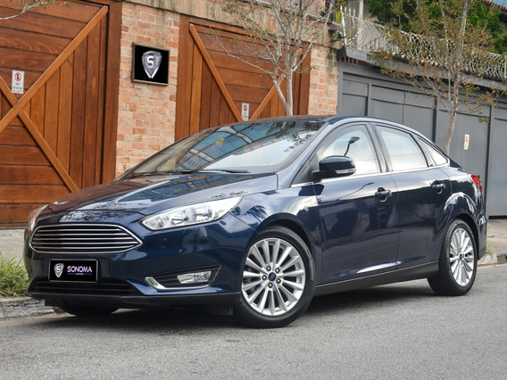 Ford Focus Titanium 2016 A/t Blindado Nível Iiia Novíssimo