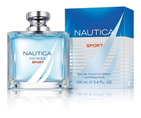 Nautica Voyage Sport Perfume Hombre 3.4oz 100ml Fragancia (;