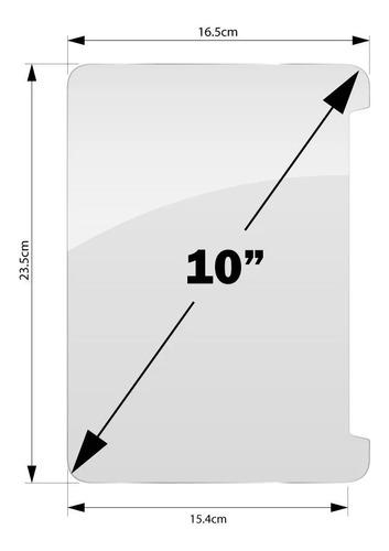 Imagen 1 de 2 de Vidrio Templado Universal 10  Glass Protector Tablet