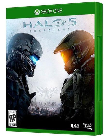 Halo 5: Guardians - Xbox One - Mídia Física E Lacrada