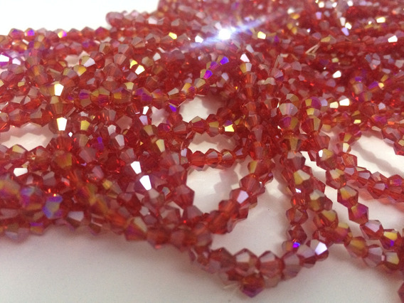 600 Pedras Cristais Swarovski 4mm 25 Cores Costurar Bordar
