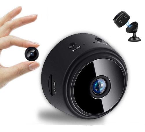 Imagen 1 de 8 de Mini Cámara Wifi Hd 1080p Niñera Oculta Espía Cámara