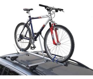 Porta Bicicleta De Techo Para Auto Ruedas Anchas Rodado 29