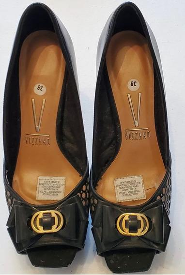 Zapato De Fiesta Vizzano N° 38 Impecable Estileto Oferta!!