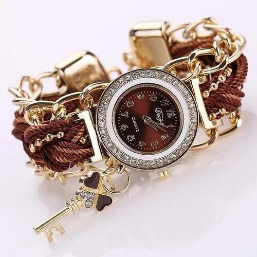 Relógio Importado Correntes Entrelaçadas (preço De Revenda)