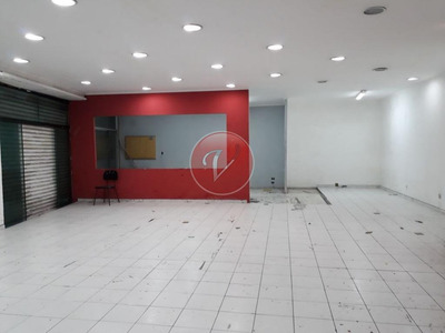 Salão Comercial Para Locação, Centro, Santo André - Sl0170. - Sl0170