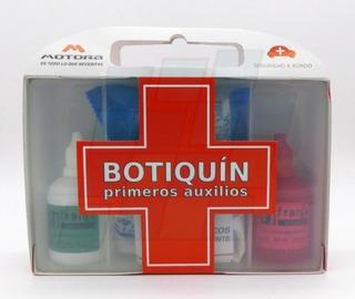 Botiquín De Primeros Auxilios Estuche Autos Vtv 7 Elementos