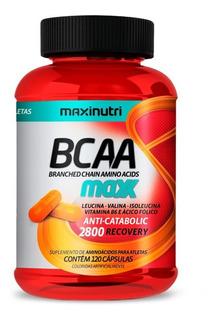 Bcaa Maxx - 120 Capsulas - Maxinutri