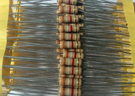 20pçs Resistor 3k9 2w 5%