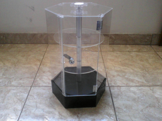 Expositor Display Giratório Acrílico Hotweels Zippo Isqueiro