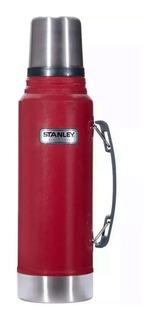 Termo Stanley Classic 1lt Con Caja Acero Inoxidable Premium