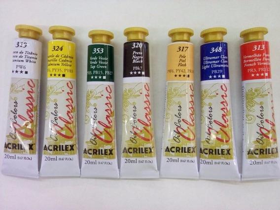 Oleos Acrilex Pomo De 20ml X 1 Unidad Muy Buena Calidad