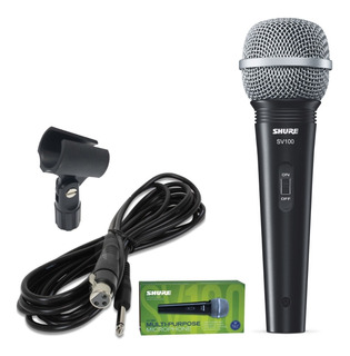 Shure Sv100 Microfono Dinamico Multifuncion Swicht On-off