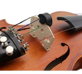Surdina Redonda De Borracha Para Violino