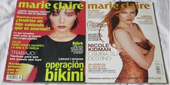 Revistas Marie Claire. Bjork, Nicole Kidman