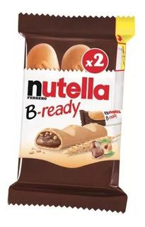 Nutella B-ready Biscoitos Wafer Com Creme De Nutella 44g