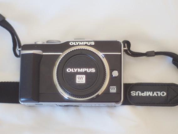Camera Mirrorless M4/3 Olympus E-pl1 Somente Corpo